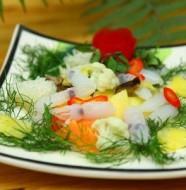 Món mực xào rau của nhậu rất thích mà ăn cũng rất ngon