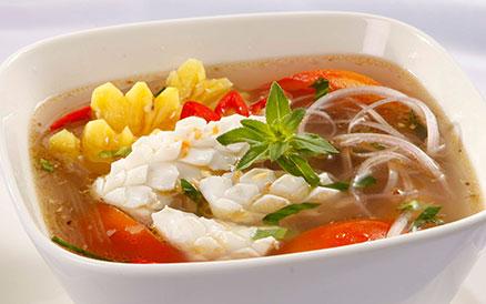 Mực nấu canh chua