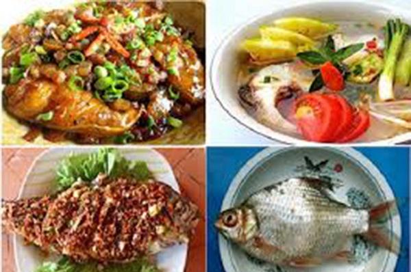 Đặc sản cá mè