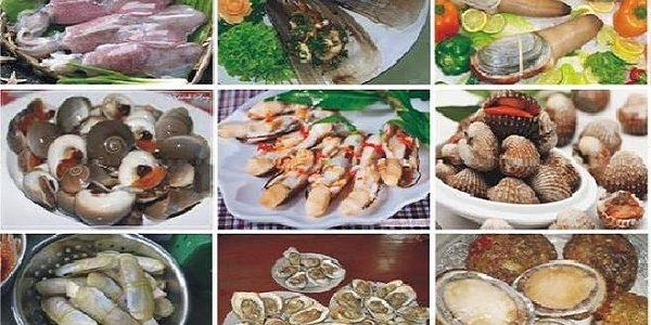 Đặc sản hải sản Hải Tiến